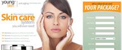 Skincare landing page